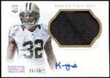 2013 Panini National Treasures Rookie Signature Materials Silver #296 Kenny Vaccaro Autograph 36/99