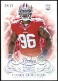 2013 Panini National Treasures Century Silver #158 Corey Lemonier RC 24/25