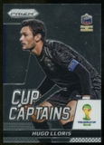 2014 Panini Prizm World Cup Cup Captains #13 Hugo Lloris
