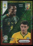 2014 Panini Prizm World Cup World Cup Matchups Prizms Yellow and Red Pulsar #1 Samuel Eto'o/Thiago Silva