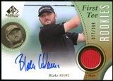 2014 Upper Deck SP Game Used #41 Blake Adams RC Shirt Autograph 77/399