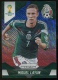 2014 Panini Prizm World Cup Prizms Blue and Red Wave #144 Miguel Layun
