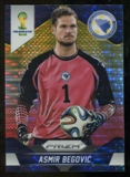 2014 Panini Prizm World Cup Prizms Yellow and Red Pulsar #23 Asmir Begovic