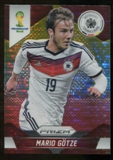 2014 Panini Prizm World Cup Prizms Yellow and Red Pulsar #89 Mario Gotze