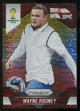 2014 Panini Prizm World Cup Prizms Yellow and Red Pulsar #142 Wayne Rooney