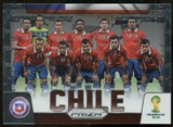 2014 Panini Prizm World Cup Team Photos #8 Chile