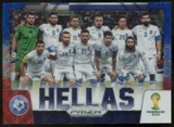2014 Panini Prizm World Cup Team Photos Prizms Blue and Red Wave #17 Hellas