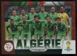 2014 Panini Prizm World Cup Team Photos Prizms Red #1 Algeria /149