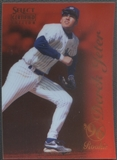 1996 Select Certified #100 Derek Jeter Certified Red