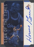 1998/99 SP Authentic #HG Horace Grant Sign of the Times Bronze Auto
