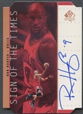 1998/99 SP Authentic #RH Ron Harper Sign of the Times Bronze Auto