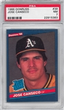1986 Donruss Baseball #39 Jose Canseco Rookie PSA 7(NM) *5383