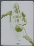 2012/13 National Treasures #148 Greg Monroe Totally Certified Printing Plate #1/1