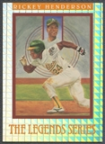 1991 Leaf Rickey Henderson The Legends Series #2435/7500