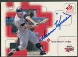 1999 SP Signature #HK Harmon Killebrew Auto