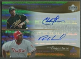 2005 Reflections #CTRH Charles Thomas & Ryan Howard Dual Signatures Auto