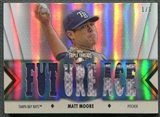 2012 Topps Triple Threads #TTR178 Matt Moore Relics Sapphire Patch #1/3