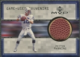 1999 Upper Deck MVP #PMS Peyton Manning Game Used Souvenirs Ball