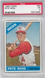 1966 Topps Baseball #30 Pete Rose PSA 5 (EX) *5365