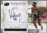 2012/13 Exquisite Collection #DR David Robinson Auto #19/30