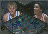 2013 Upper Deck All-Time Greats #ATF2BT Larry Bird & Isiah Thomas All-Time Forces Dual Auto #2/5