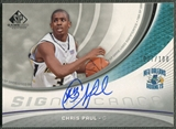 2005/06 SP Game Used #CP Chris Paul SIGnificance Rookie Auto #037/100