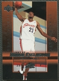 2003/04 Upper Deck Rookie Exclusives #1 LeBron James Rookie