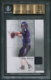 2011 SP Authentic #21 Andy Dalton Rookie BGS 10 (PRISTINE) *3300