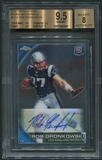 2010 Topps Chrome #C112 Rob Gronkowski Rookie Auto BGS 9.5 (GEM MINT) *0264