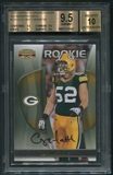 2009 Donruss Gridiron Gear #125 Clay Matthews Rookie Gold Auto #040/100 BGS 9.5 (GEM MINT) *3182