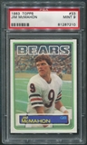 1983 Topps #33 Jim McMahon Rookie PSA 9 (MINT) *7210