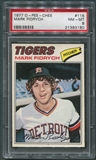1977 O-Pee-Chee #115 Mark Fidrych Rookie PSA 8 (NM-MT) *3180