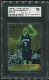 1996/97 Topps Chrome Basketball #177 Stephon Marbury Rookie SGC 98 (GEM) *0003