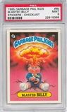 1985 Garbage Pail Kids Stickers #8b Blasted Billy PSA 9 (MT) *5398