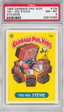 1985 Garbage Pail Kids Stickers #10a Tee-Vee Stevie PSA 8 (NM-MT) *5399