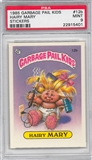 1985 Garbage Pail Kids Stickers #12b Hairy Mary PSA 9 (MT) *5401