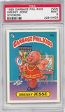 1985 Garbage Pail Kids Stickers #20b Dressy Jesse PSA 9 (MT) *5403