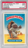 1985 Garbage Pail Kids Stickers #36a Wrappin' Ruth PSA 9 (MT) *5407