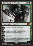 Magic the Gathering Magic 2015 Core Set Single Garruk, Apex Predator Foil NEAR MINT (NM)