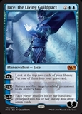 Magic the Gathering Magic 2015 Core Set Single Jace, the Living Guildpact Foil NEAR MINT (NM)