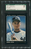 1993 Pinnacle Baseball #457 Derek Jeter Rookie SGC 96 (MINT) *1004