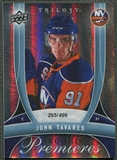 2009/10 Upper Deck Trilogy #170 John Tavares Rookie #293/499