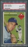 1954 Topps Baseball #32 Duke Snider PSA 8 (NM-MT) *2004