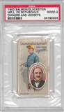 1900 Salmon/Gluckstein Mr. L De Rothschild Owners and Jockeys PSA 2 (GOOD) *0304