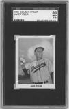 1955 Golden Stamp Baseball Jake Pitler SGC 86 (NM+)