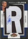 "2009/10 Panini Threads #107 Stephen Curry Rookie Letter ""R"" Patch Auto #369/625"