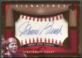 2005 Sweet Spot Classic #BE Johnny Bench Signatures Auto