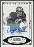 2012 Panini National Treasures #129 Dwight Clark Century Black Signature Auto #13/25