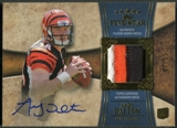 2011 Topps Five Star #161 Andy Dalton Rookie Gold Patch Auto #07/55