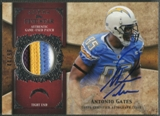 2011 Topps Five Star #FSSPAG Antonio Gates Veteran Patch Auto #44/90
